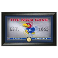 University of Kansas Man Cave Bronze Coin Photo Mint