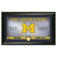 University of Michigan Man Cave Bronze Coin Photo Mint