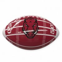 University of Arkansas Field Mini-Size Glossy Football