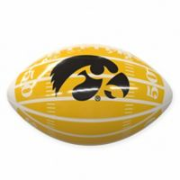 University of Iowa Field Mini-Size Glossy Football