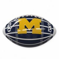 University of Michigan Field Mini-Size Glossy Football