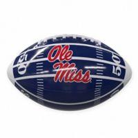 University of Mississippi Field Mini-Size Glossy Football