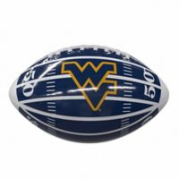 West Virginia University Field Mini-Size Glossy Football