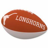 University of Texas Combo Logo Junior-Size Rubber Football
