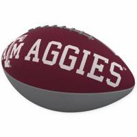 Texas A&M University Combo Logo Junior-Size Rubber Football