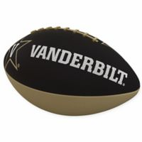 Vanderbilt University Combo Logo Junior-Size Rubber Football
