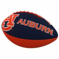 Auburn University Combo Logo Junior-Size Rubber Football