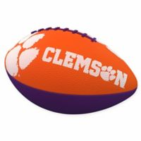 Clemson University Combo Logo Junior-Size Rubber Football