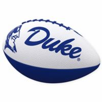 Duke University Combo Logo Junior-Size Rubber Football