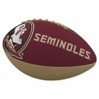 Florida State University Combo Logo Junior-Size Rubber Football