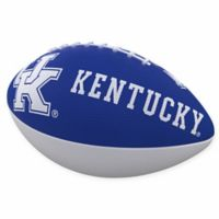 University of Kentucky Combo Logo Junior-Size Rubber Football