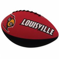 University of Louisville Combo Logo Junior-Size Rubber Football