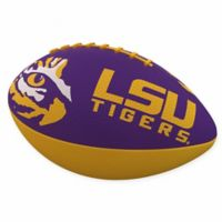 Louisiana State University Combo Logo Junior-Size Rubber Football