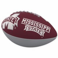 Mississippi State University Combo Logo Junior-Size Rubber Football
