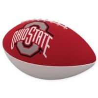 Ohio State University Combo Logo Junior-Size Rubber Football