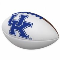 University of Kentucky Official-Size Autograph Football
