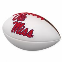 University of Mississippi Official-Size Autograph Football
