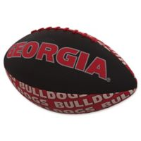 University of Georgia Repeating Logo Mini-Size Rubber Football