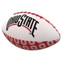 Ohio State University Repeating Logo Mini-Size Rubber Football