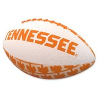 University of Tennessee Repeating Logo Mini-Size Rubber Football