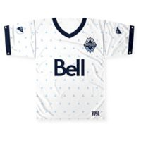 MLS Vancouver Whitecaps FC Printed Jersey Banner