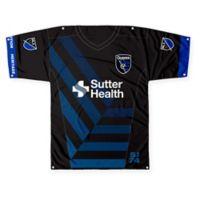 MLS San Jose Earthquakes Printed Jersey Banner