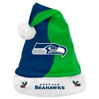 b4178ab44 NFL Seattle Seahawks Basic Santa Hat