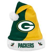 2fb40ca5c NFL Green Bay Packers Basic Santa Hat