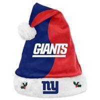 NFL New York Giants Basic Santa Hat