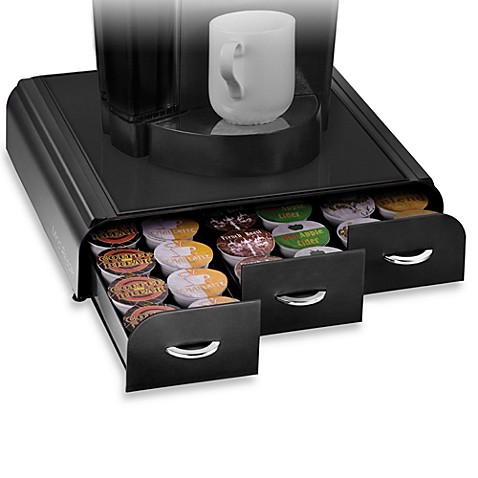 Mind reader anchor k cup single serve coffee drawers bed bath beyond - Rangement capsules nespresso ...