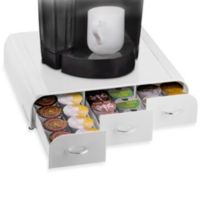 Mind Reader Anchor K-Cup® Single Serve Coffee Drawer in White (Holds 36 K-Cups)
