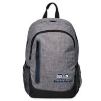 NFL Seattle Seahawks 18-Inch Laptop Backpack in Heather Grey