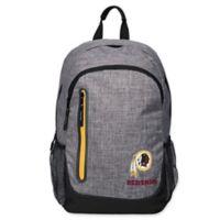 NFL Washington Redskins 18-Inch Laptop Backpack in Heather Grey