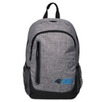 NFL Carolina Panthers 18-Inch Laptop Backpack in Heather Grey