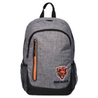 NFL Chicago Bears 18-Inch Laptop Backpack in Heather Grey