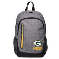 NFL Green Bay Packers 18-Inch Laptop Backpack in Heather Grey