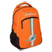 NFL Miami Dolphins 18-Inch Action Stripe Backpack