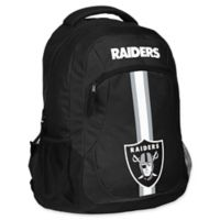 NFL Oakland Raiders 18-Inch Action Stripe Backpack