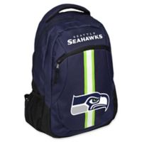 NFL Seattle Seahawks 18-Inch Action Stripe Backpack