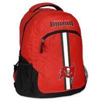 NFL Tampa Bay Buccaneers 18-Inch Action Stripe Backpack