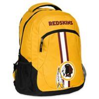 NFL Washington Redskins 18-Inch Action Stripe Backpack