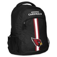 NFL Arizona Cardinals 18-Inch Action Stripe Backpack
