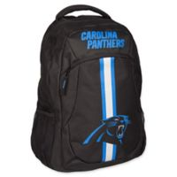 NFL Carolina Panthers 18-Inch Action Stripe Backpack