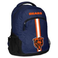 NFL Chicago Bears 18-Inch Action Stripe Backpack
