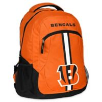 NFL Cincinnati Bengals 18-Inch Action Stripe Backpack