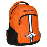 NFL Denver Broncos 18-Inch Action Stripe Backpack