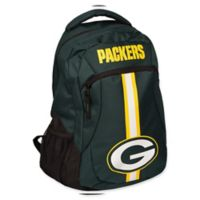 NFL Green Bay Packers 18-Inch Action Stripe Backpack