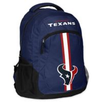 NFL Houston Texans 18-Inch Action Stripe Backpack