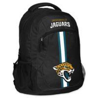 NFL Jacksonville Jaguars 18-Inch Action Stripe Backpack