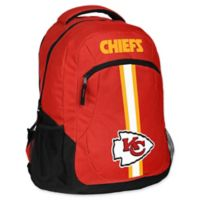 NFL Kansas City Chiefs 18-Inch Action Stripe Backpack